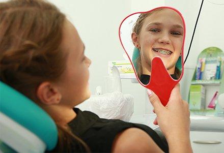 детский ортодонт фото
